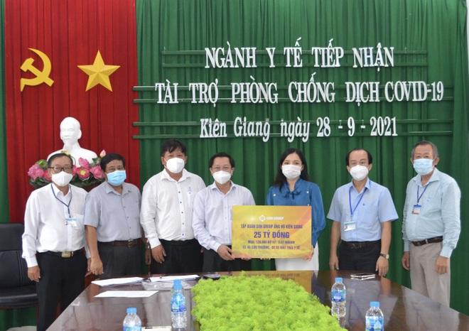 Sun Group hỗ trợ thêm 25 tỷ đồng giúp Kiên Giang chống dịch - 1