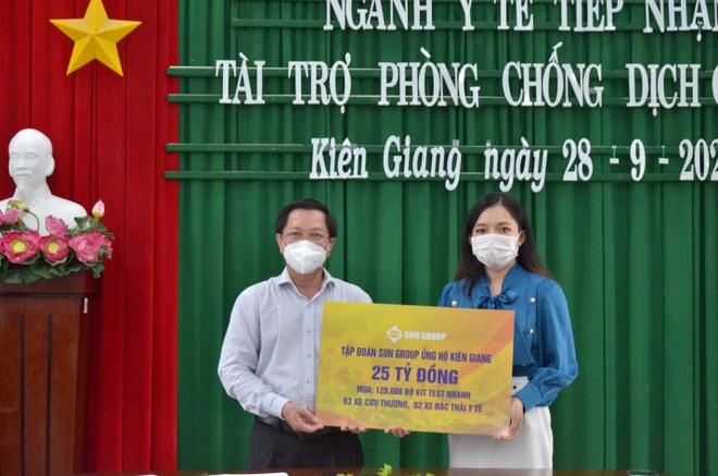 Sun Group hỗ trợ thêm 25 tỷ đồng giúp Kiên Giang chống dịch - 2