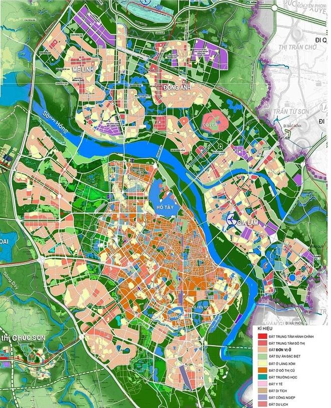 Hà Nội điều chỉnh tổng thể Quy hoạch chung xây dựng Thủ đô - 1