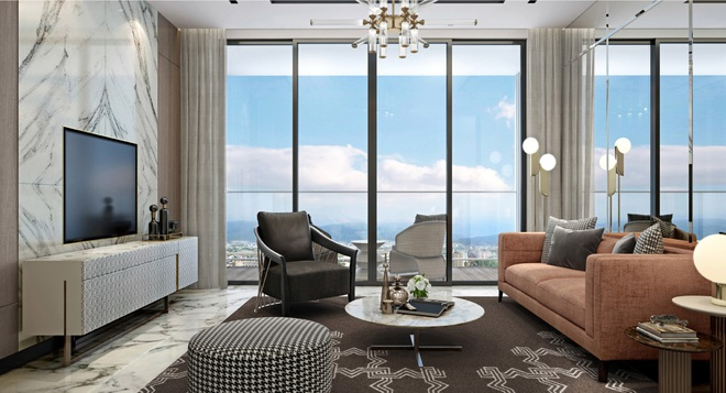 Điểm nhấn của căn hộ siêu sang The Platinum - Sun Marina Town - 2