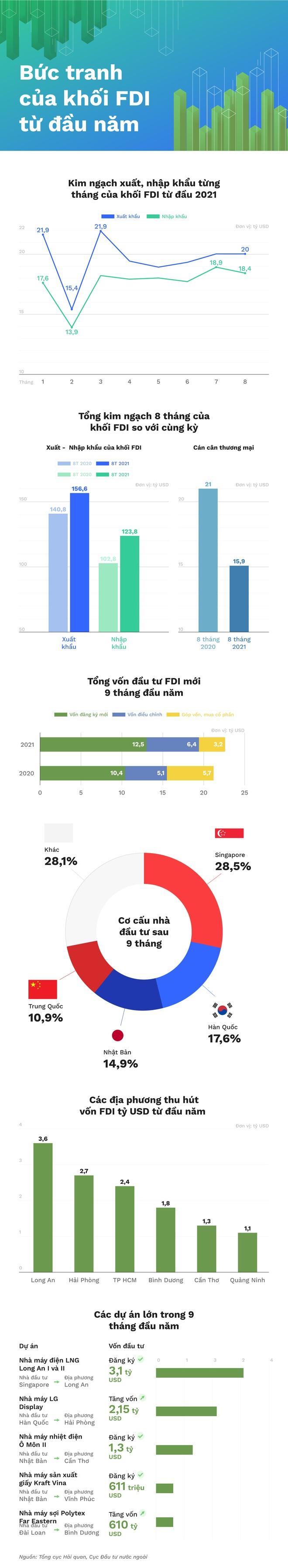 Infographic: Vốn FDI vào Việt Nam - gam màu hồng hay xám? - 1