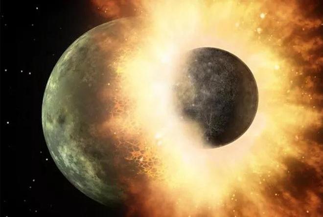 Trái Đất bị đập vỡ liên tục bởi một hành tinh và một mặt trăng khác - 2