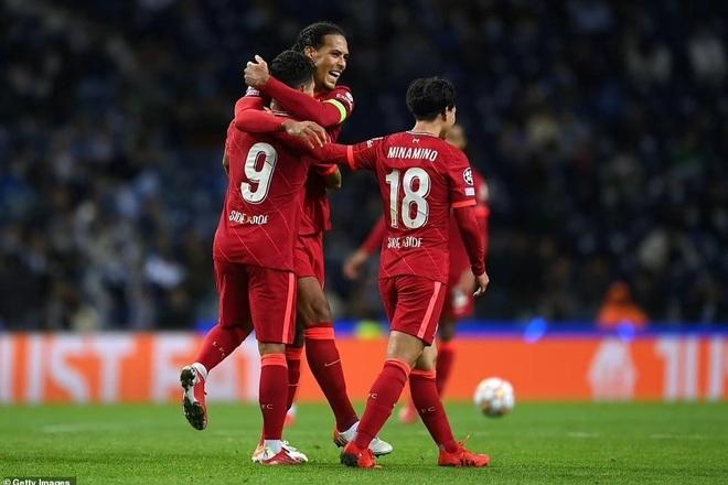 Liverpool thắng đậm Porto, AC Milan gục ngã trước Atletico - 5