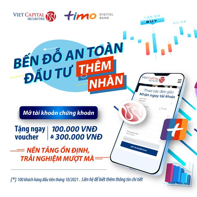 VCSC hợp tác với TIMO tri ân khách hàng mở tài khoản mới - 1