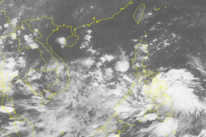 Chiều tối nay áp thấp nhiệt đới vào Biển Đông - 1