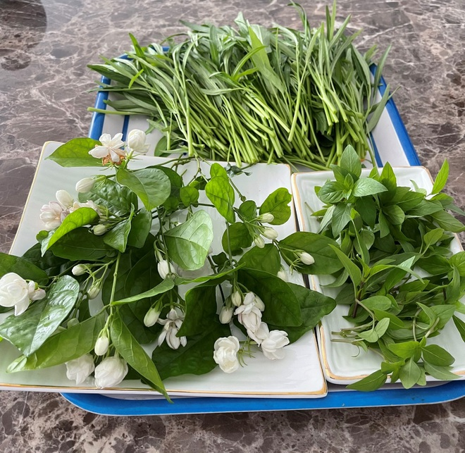 Vợ chồng Hà Nội vác 100 bao đất lên sân thượng, làm vườn hữu cơ xanh mướt - 5