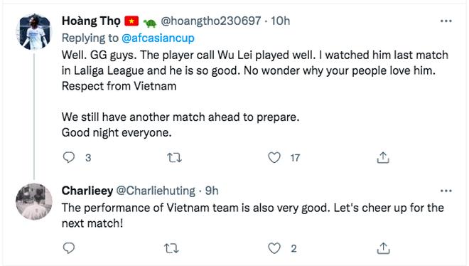 Cổ động viên thế giới: Đội tuyển Việt Nam chơi quá hay trước Trung Quốc - 2