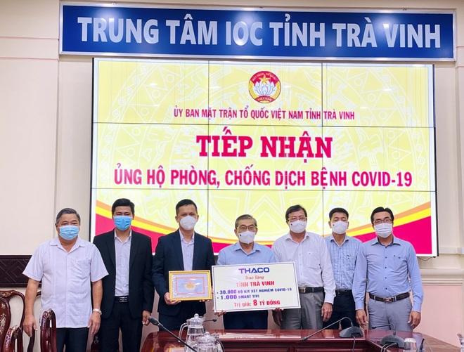 THACO trao tặng ngành giáo dục Trà Vinh 1000 smart tivi cho dạy và học trực tuyến - 2