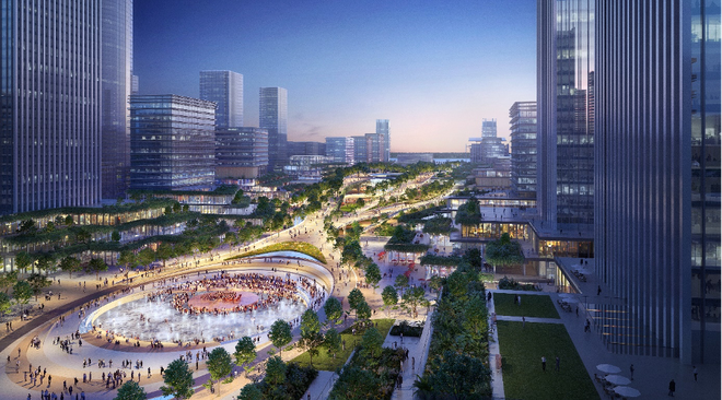 Công bố phương án chốt cho kiến trúc trụ sở 12 bộ ngành ở Tây Hồ Tây - 3