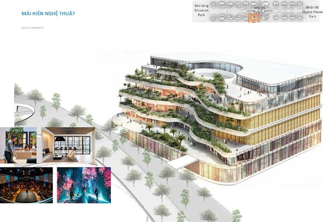 Công bố phương án chốt cho kiến trúc trụ sở 12 bộ ngành ở Tây Hồ Tây - 6