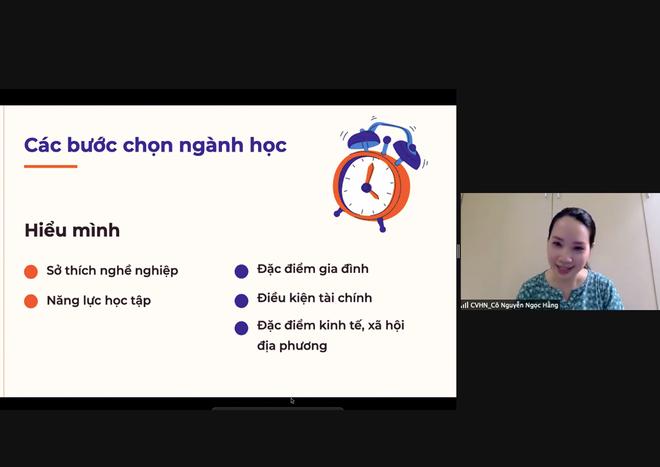 Định hướng nghề nghiệp cho học sinh THPT thành phố Hải Phòng và tỉnh Nghệ An - 2