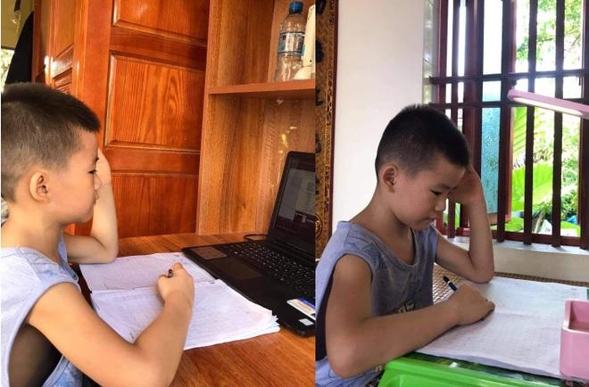 Phụ huynh, học sinh mệt phờ vì lịch học online kín mít từ sáng tới chiều - 2