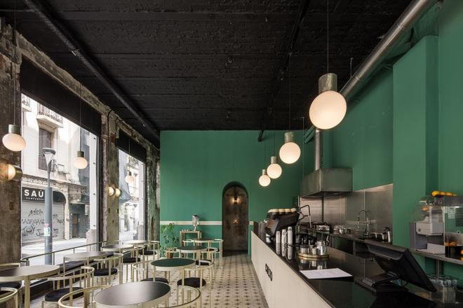 Quán cà phê đổ nát, thiết kế xuyên thấu giúp khách ngắm trọn cảnh quan - 7
