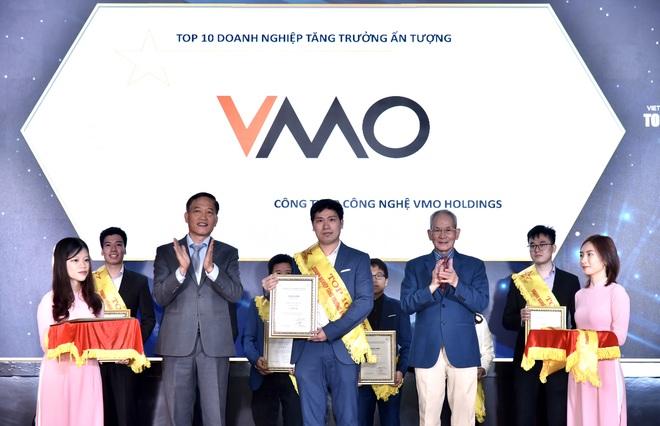 VMO Holdings giành cú đúp giải thưởng TOP 10 doanh nghiệp ICT Việt Nam 2021 - 2