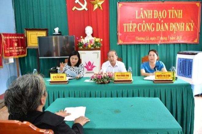 Thừa Thiên Huế giải trình việc chủ tịch tỉnh 18 tháng không tiếp dân - 1