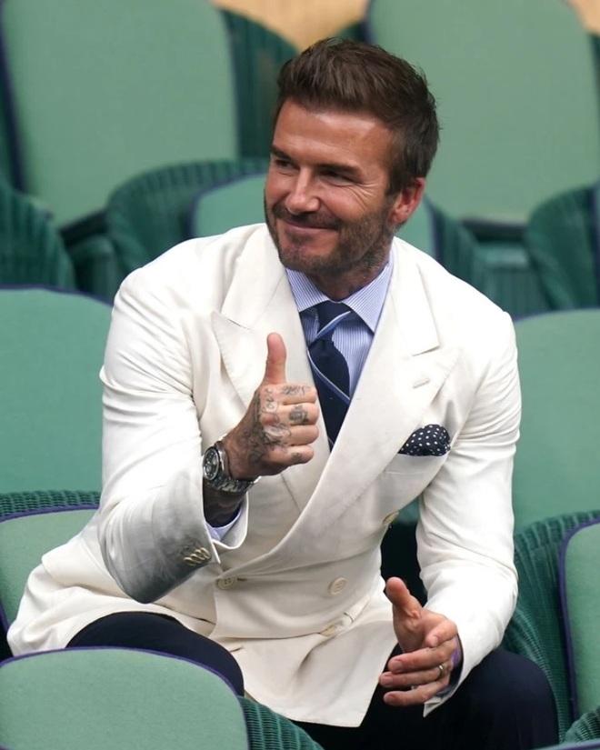 David Beckham tự hào vì cô con gái út Harper - 2