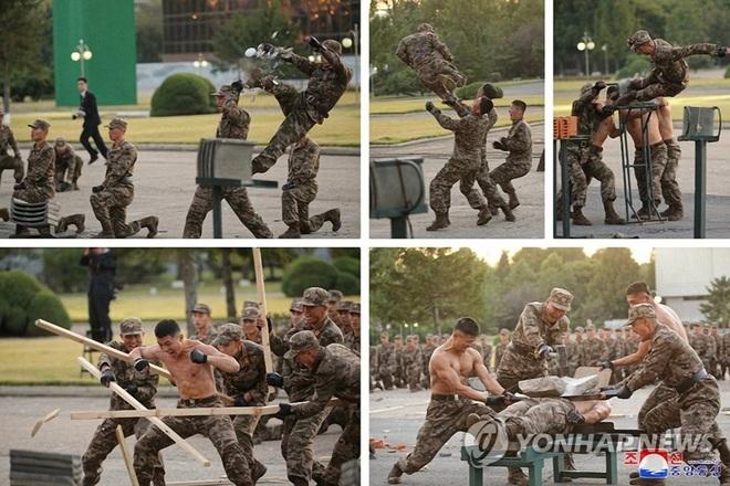 Thông điệp sau màn cởi trần khoe võ thuật điêu luyện của binh sĩ Triều Tiên - 1