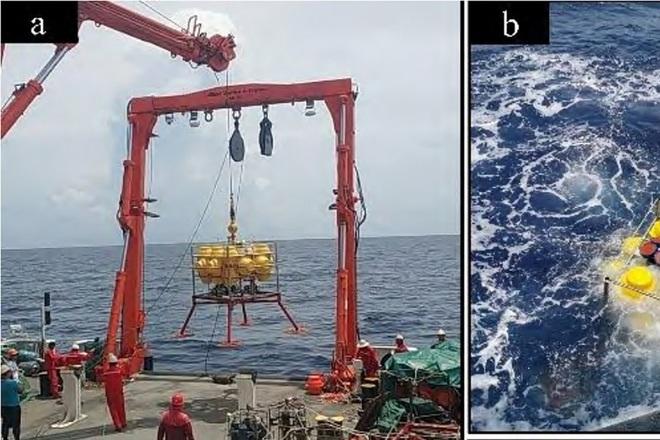 Trung Quốc thử thiết bị phát hiện mối đe dọa với tàu ngầm ở Biển Đông - 1