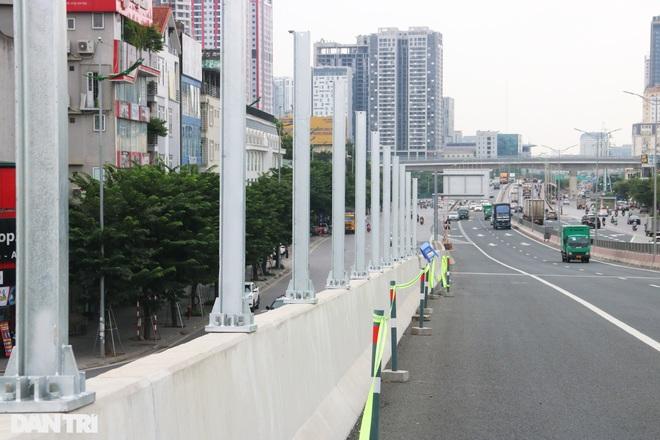 Lắp vách chống ồn dọc tuyến đường trên cao đẹp nhất Hà Nội - 12