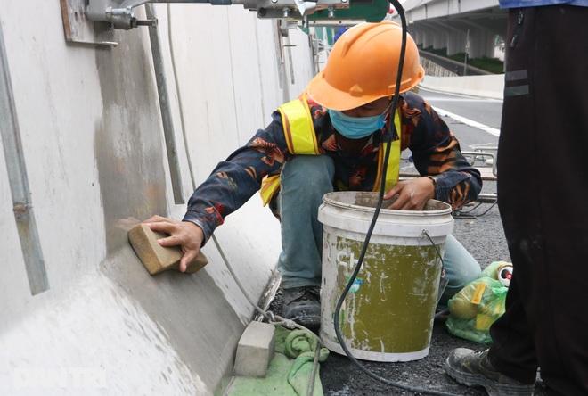 Lắp vách chống ồn dọc tuyến đường trên cao đẹp nhất Hà Nội - 9