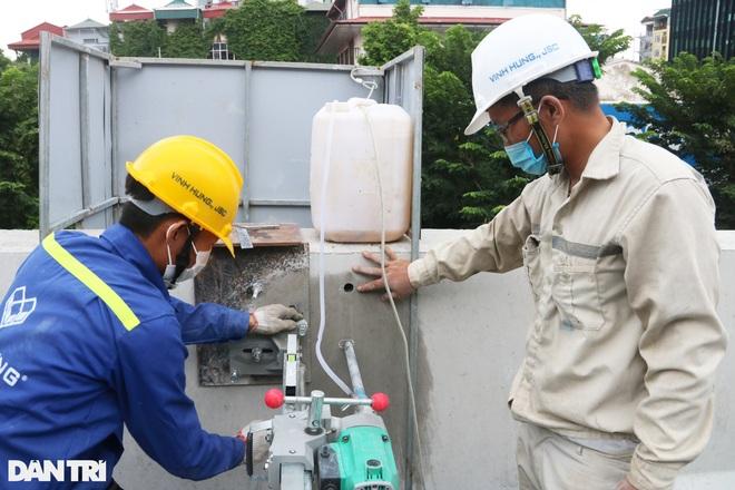 Lắp vách chống ồn dọc tuyến đường trên cao đẹp nhất Hà Nội - 8