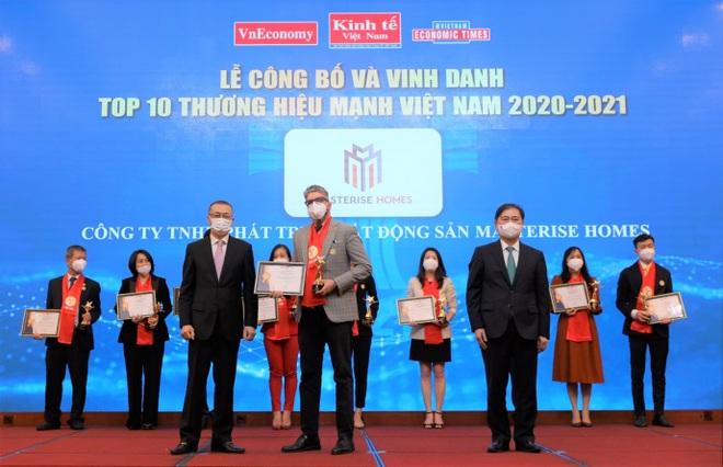 Masterise Homes vào top 10 Thương hiệu mạnh Việt Nam - 1