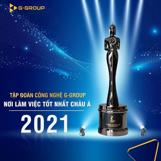 G-Group được HR Asia vinh danh Nơi làm việc tốt nhất châu Á - 1