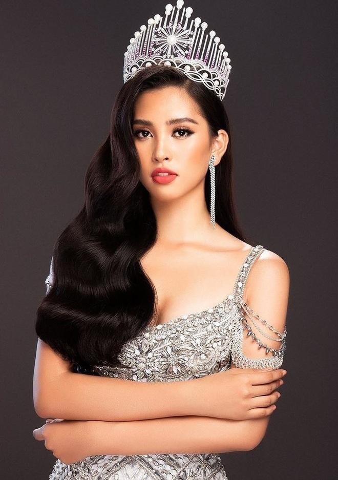 Hoa hậu Tiểu Vy bật khóc, xin lỗi người đẹp Thùy Tiên trên sóng truyền hình - 1