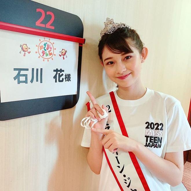 Nhan sắc ngọt ngào của tân Hoa hậu tuổi teen Nhật Bản - 6