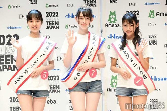 Nhan sắc ngọt ngào của tân Hoa hậu tuổi teen Nhật Bản - 2
