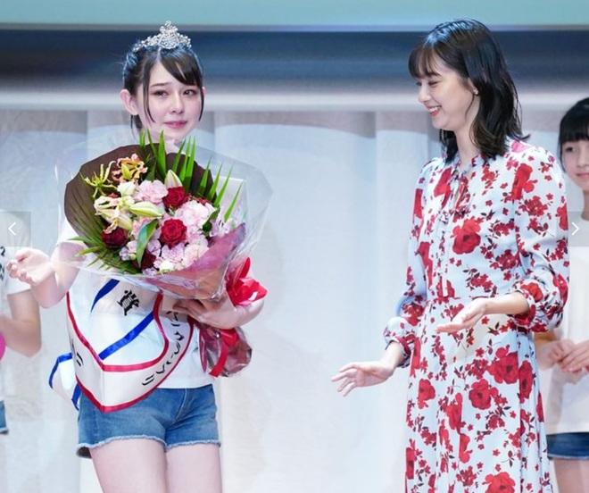 Nhan sắc ngọt ngào của tân Hoa hậu tuổi teen Nhật Bản - 4