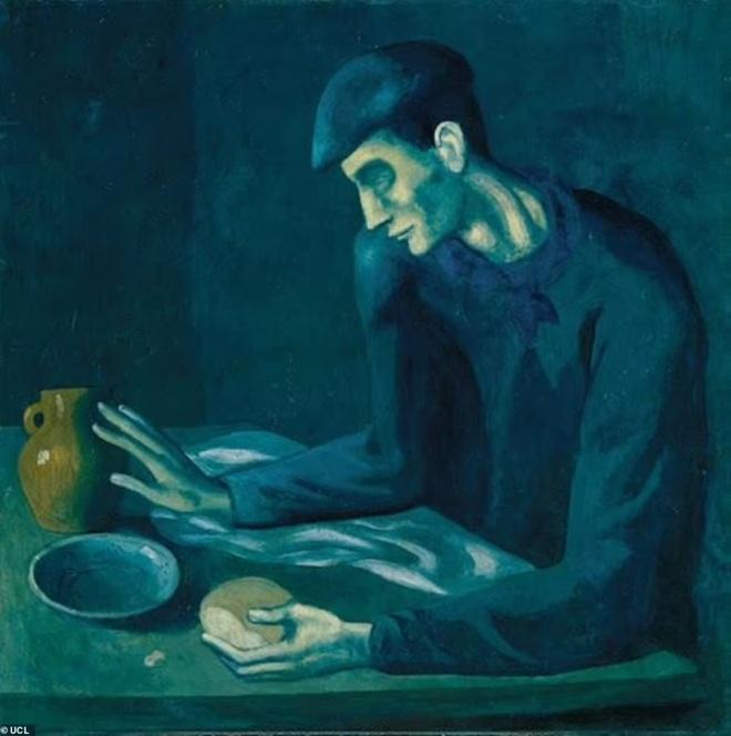 Cô gái khỏa thân thu mình trong cô đơn của Picasso vừa lộ diện - 2