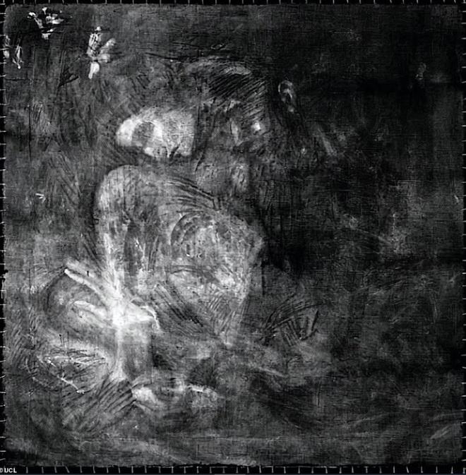 Cô gái khỏa thân thu mình trong cô đơn của Picasso vừa lộ diện - 3
