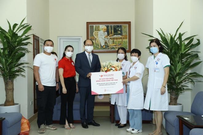 Tổng cục Du lịch Hàn Quốc tiếp sức đội ngũ y bác sĩ  Việt Nam tuyến đầu chống dịch - 3