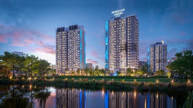 BerRiver Jardin - dự án căn hộ hướng sông hiếm hoi tại Hà Nội - 1