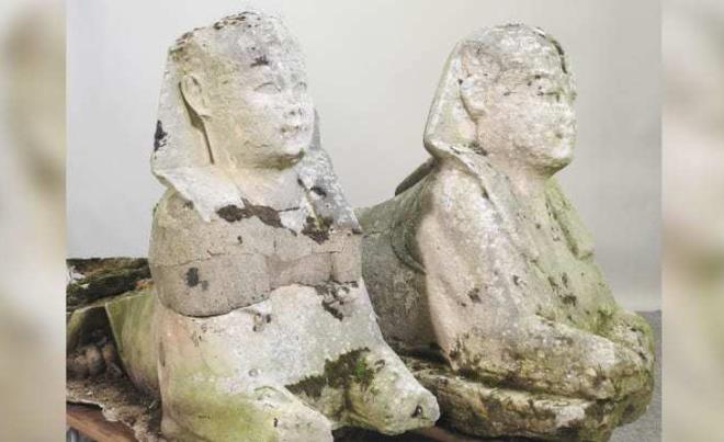 Tưởng bức tượng cũ kỹ trong vườn, ai ngờ là di vật cổ đại có giá siêu khủng - 1