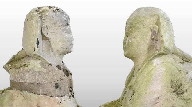 Tưởng bức tượng cũ kỹ trong vườn, ai ngờ là di vật cổ đại có giá siêu khủng - 2