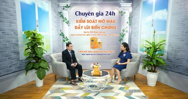 Đại tá Phạm Hòa Lan chia sẻ cách kiểm soát mỡ máu cao hiệu quả, chặn đứng đột quỵ - 3