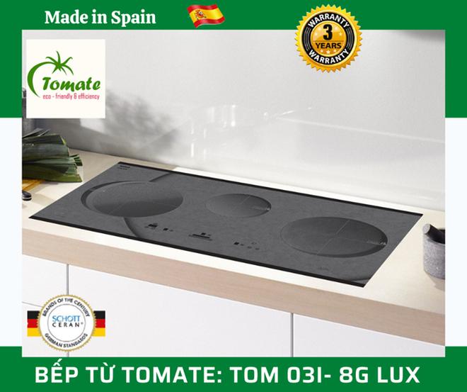 Bếp từ Tomate 8G LUX: Sử dụng công nghệ hàng đầu thế giới - 1