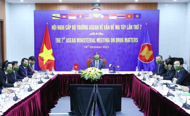 Bộ trưởng Công an: Việt Nam không khoan nhượng với tội phạm ma túy - 1