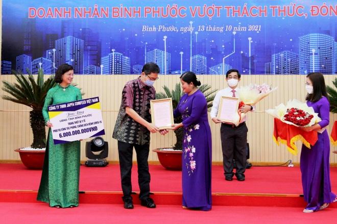 Japfa Việt Nam tặng thiết bị y tế trị giá 6 tỷ đồng cho bệnh viện dã chiến Bình Phước - 1