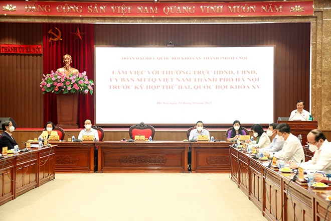 Bí thư Hà Nội: Vào thành phố vẫn phải đáp ứng các điều kiện an toàn - 2