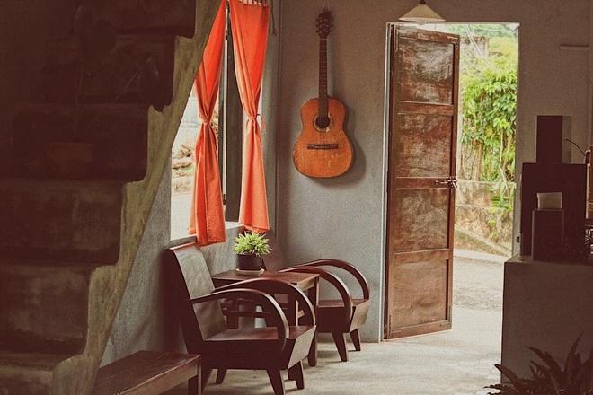 Về quê nghỉ dịch, cô gái Đồng Nai mở quán cà phê tặng bố mẹ - 5