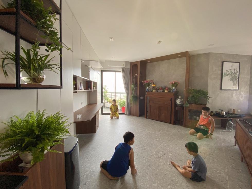 Biến căn hộ 120 m2 siêu cũ thành nơi nghỉ dưỡng sang chảnh lúc giãn cách - 14
