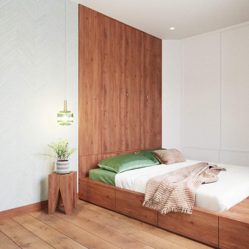 Biến căn hộ 120 m2 siêu cũ thành nơi nghỉ dưỡng sang chảnh lúc giãn cách - 12