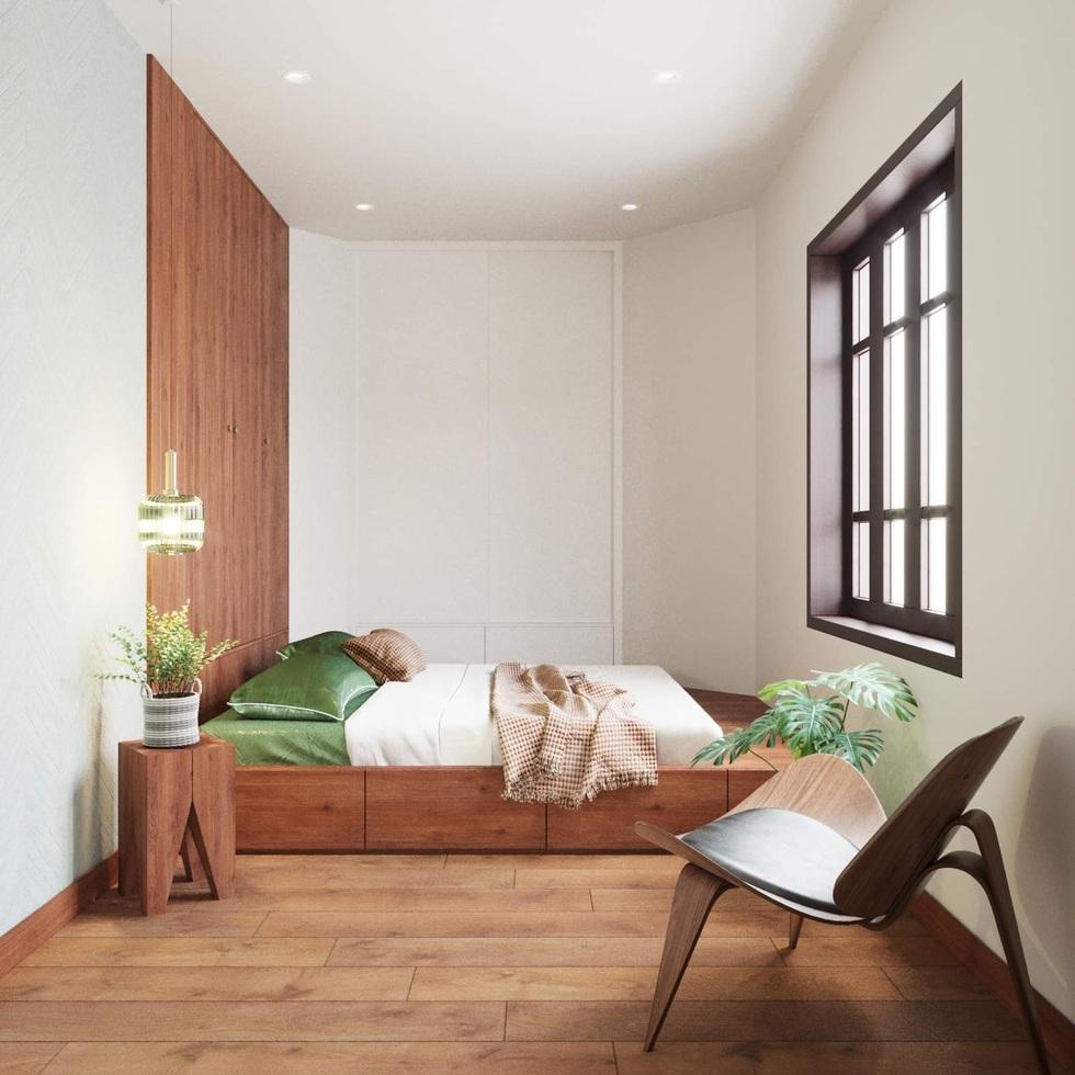 Biến căn hộ 120 m2 siêu cũ thành nơi nghỉ dưỡng sang chảnh lúc giãn cách - 11