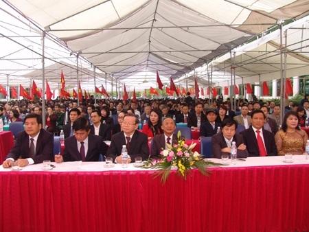 Trường Đại học Thái Bình tổ chức Khai giảng