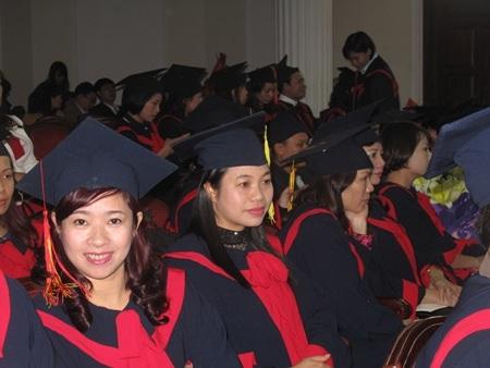 Học viên cao học trường ĐH Giáo dục - ĐH Quốc gia Hà Nội