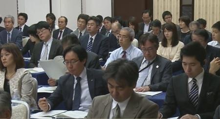 Các đại biểu tại hội thảo xúc tiến hợp tác xây dựng Trường ĐH Việt Nhật