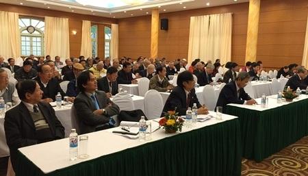 Các đại biểu tham dự hội nghị Ban Chấp hành TƯ Hội Khuyến học Việt Nam